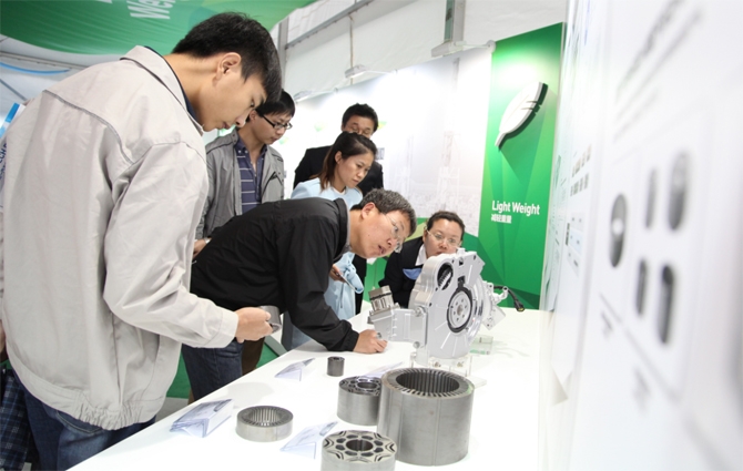 Tech Exhibition in China