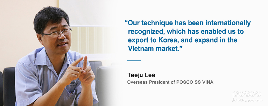 POSCO-VIETNAM: From Southeast Asia to the World
