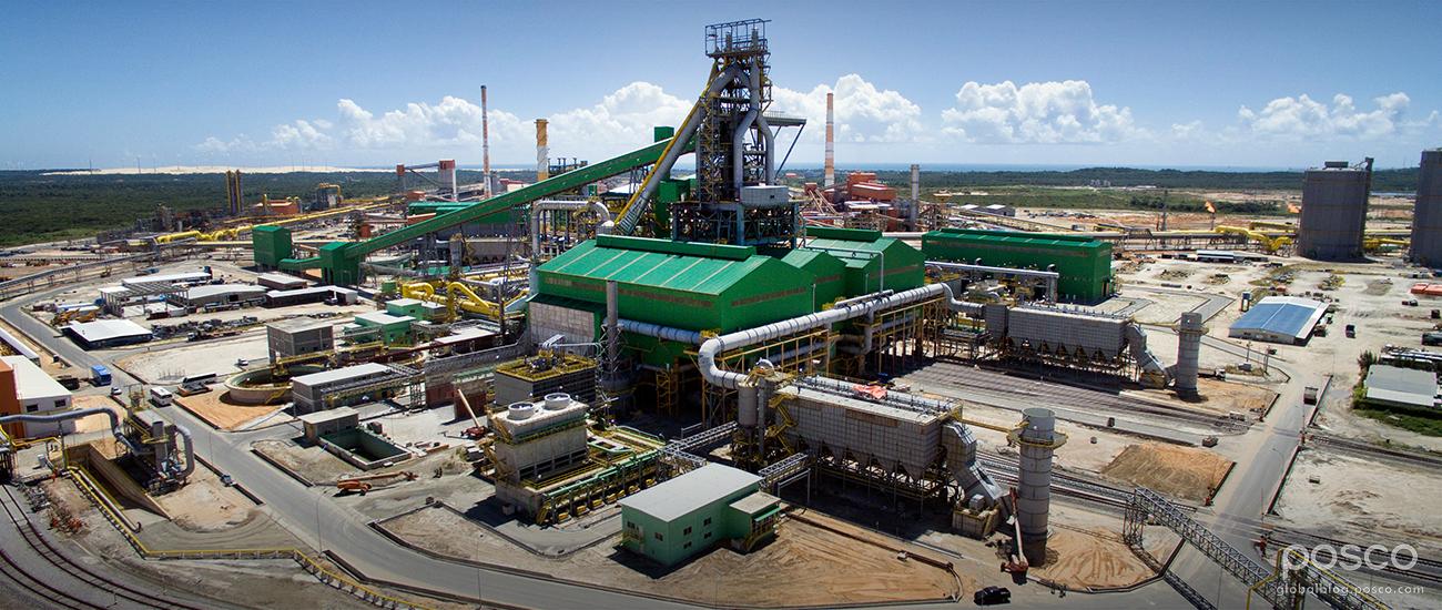 CSP Steelworks in Brazil Held Blow-In Ceremony on June 10