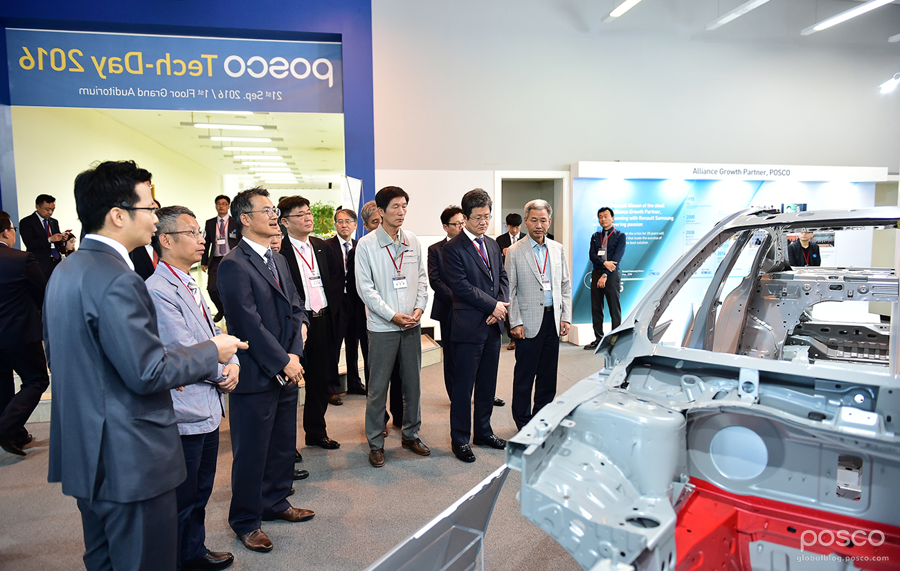 POSCO Organizes Tech Day for Renault Samsung Motors