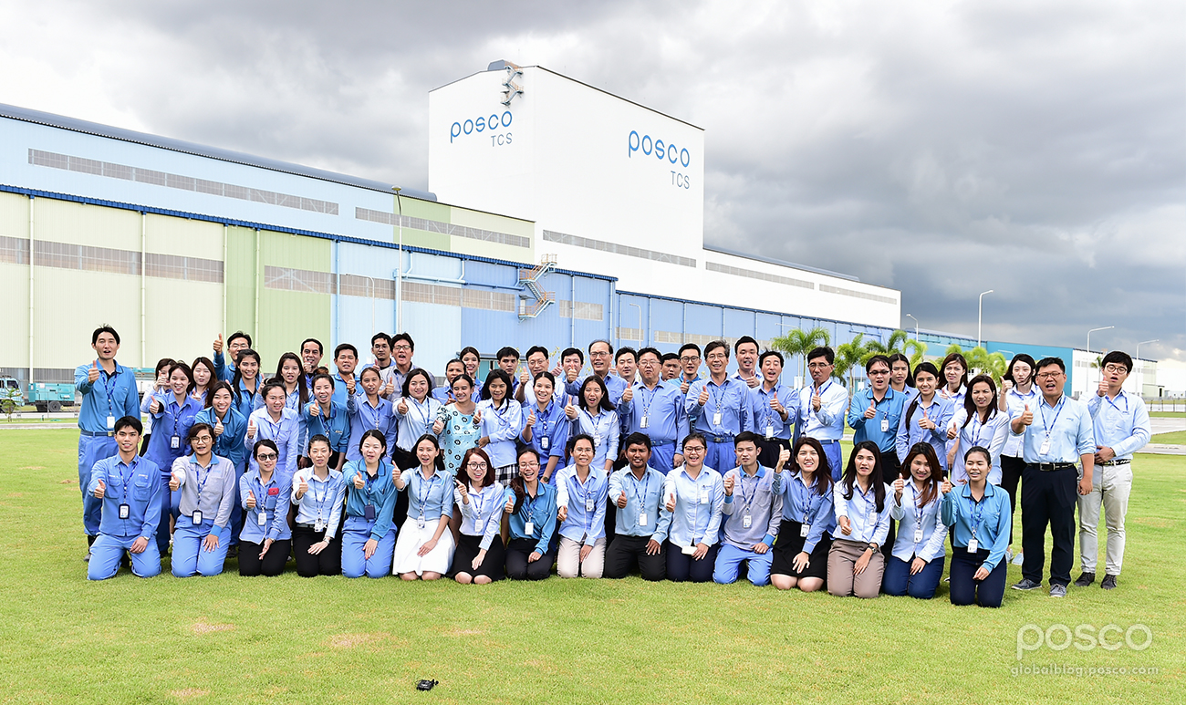 POSCO Holds Completion Ceremony for Thailand CGL