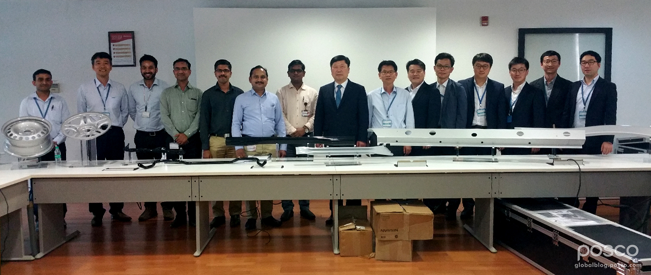 POSCO Holds 2016 SEVIT Program in India for Automotive Parts Manufacturers
