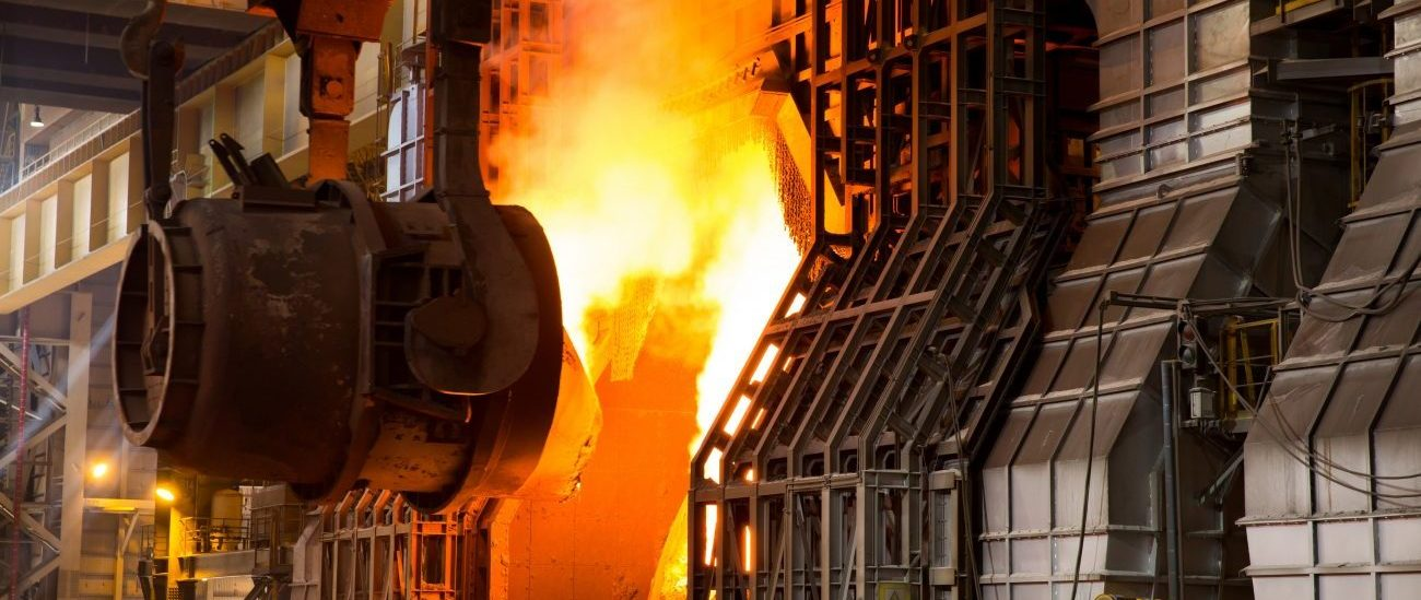 Ladle charging: moving hot metal to a basic oxygen furnace to make steel